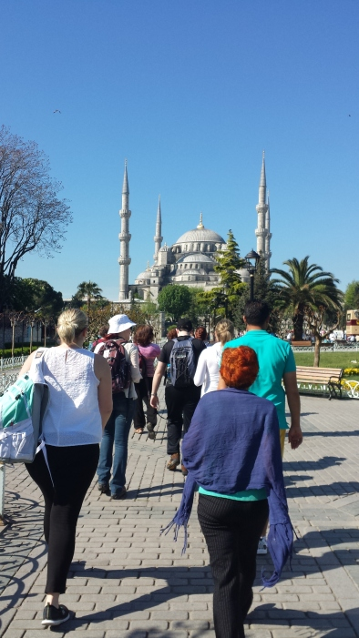A view of Hagia Sophia
